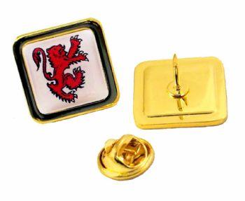 20mm squ superior gold badge